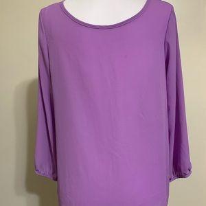 Love culture lavender blouse